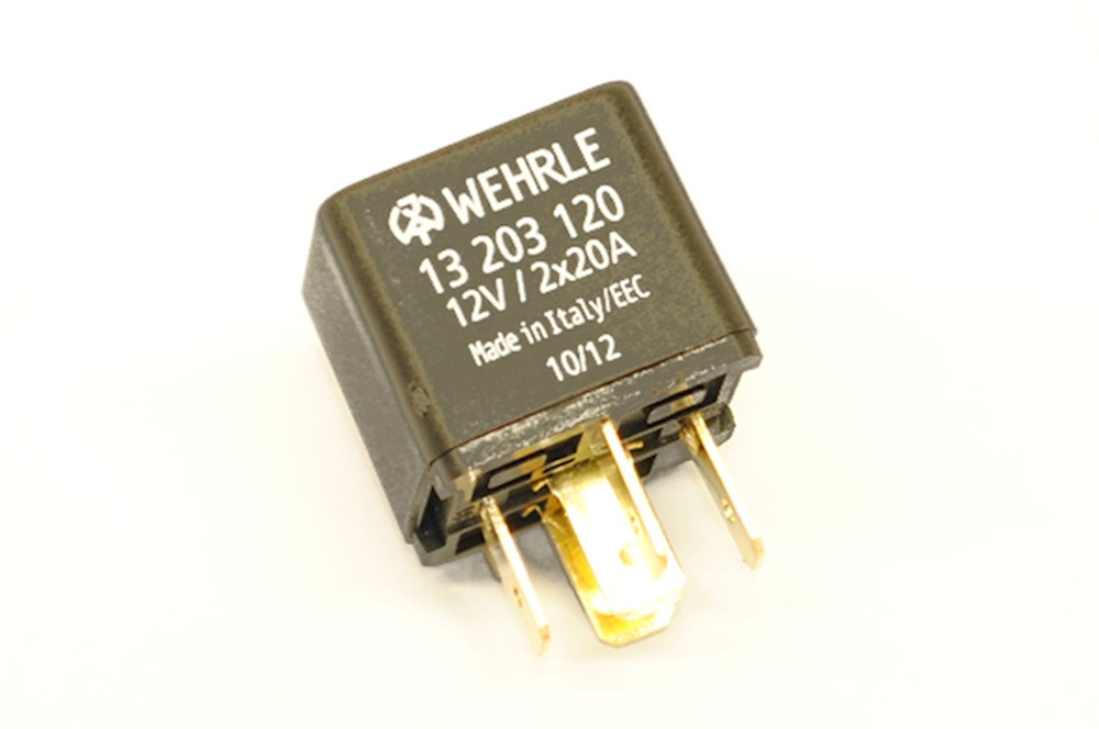 WE13203120 double contact relay n o 12v  at webbmarketing.co