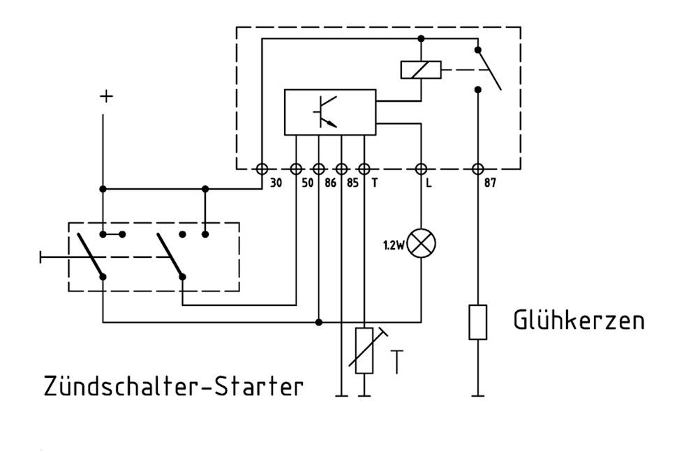 preheating relay 12v