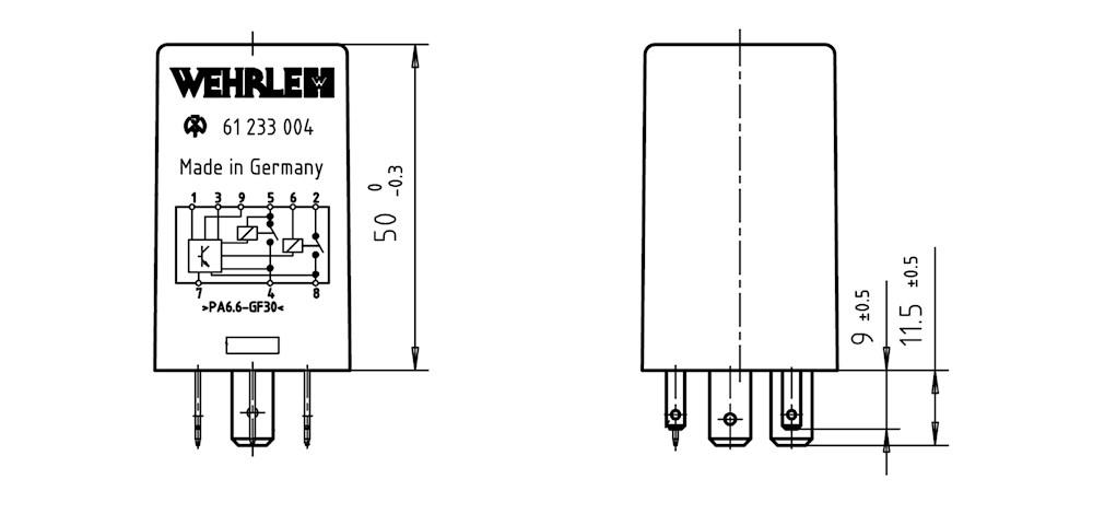 logic relay 12v