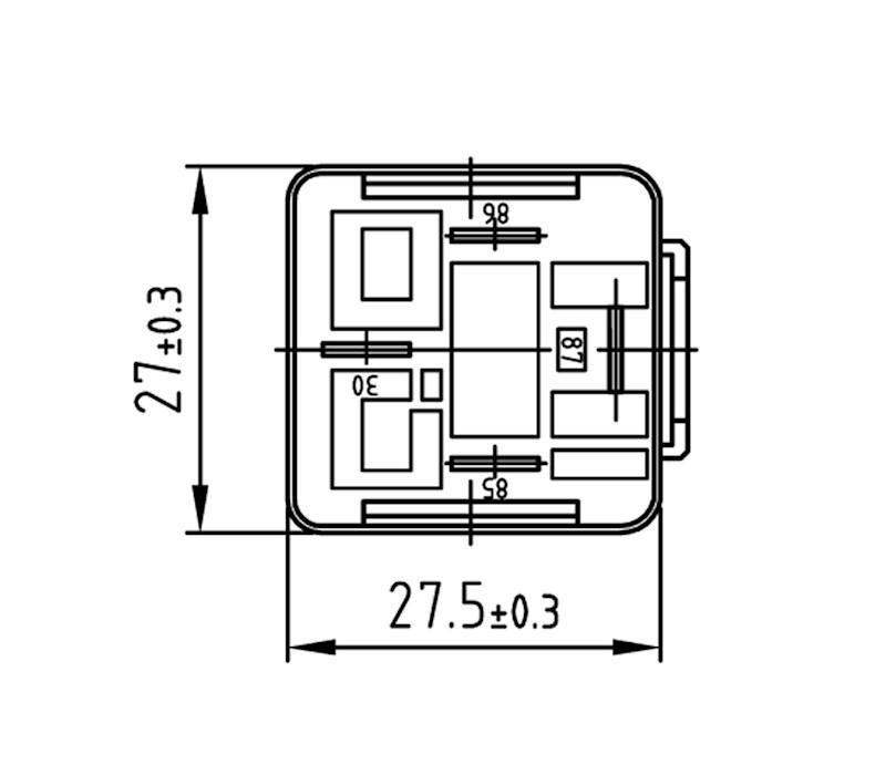relais schlie u00dfer 12v 30a