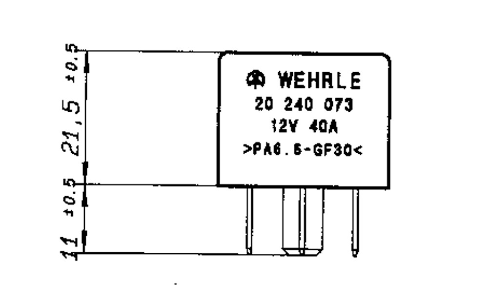 relais schlie u00dfer 12v 40a  mit widerstand
