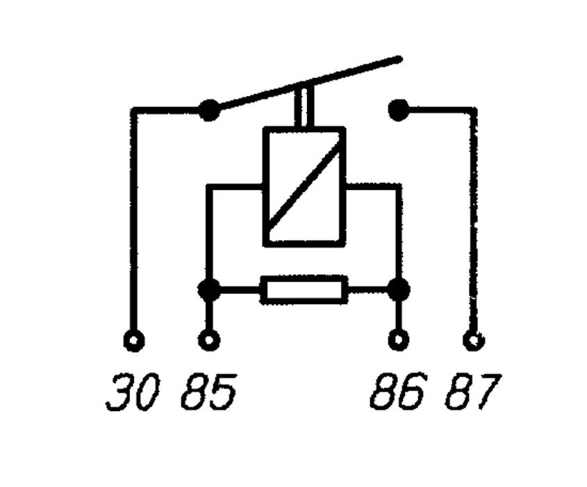 high performance relay n o  12v 40a