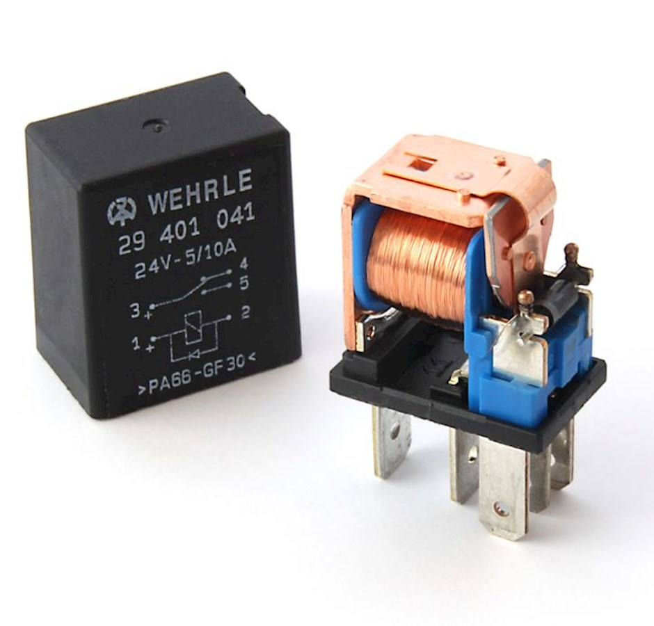 Wehrle Automotive Electronics Switching Relays 12v Relay Switch Datasheet With This Circuit The Time Will Be Increased And As A Result Service Life May Reduced Therefore It Is Necessary To Examine