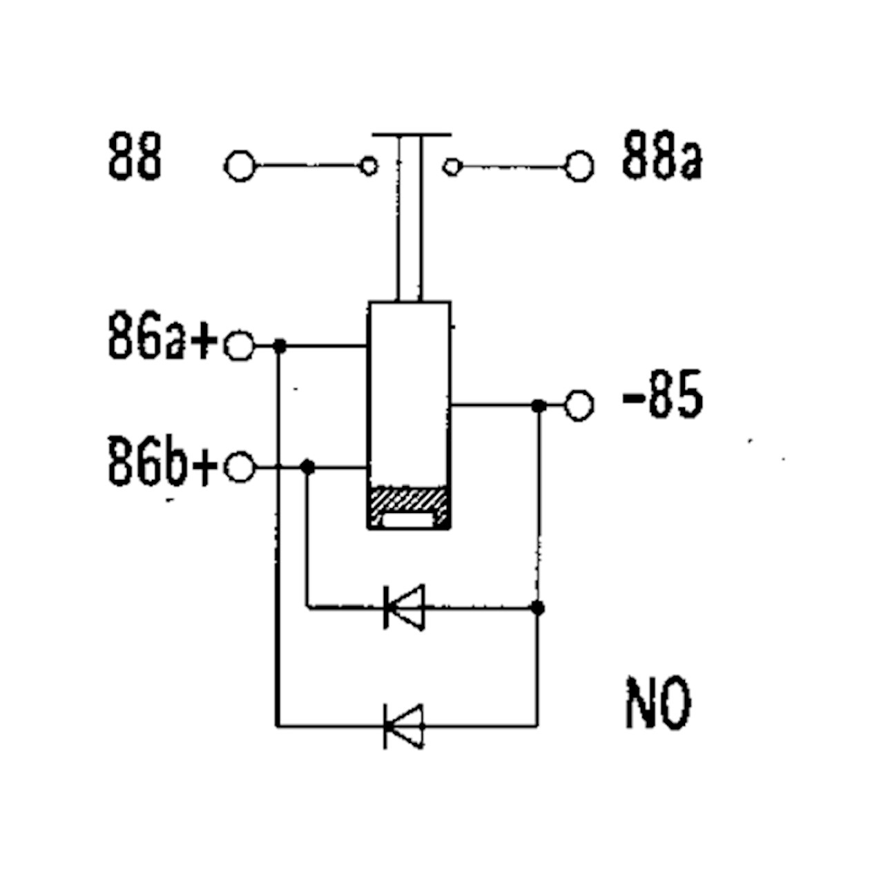 high performance relay bistable n o  12v