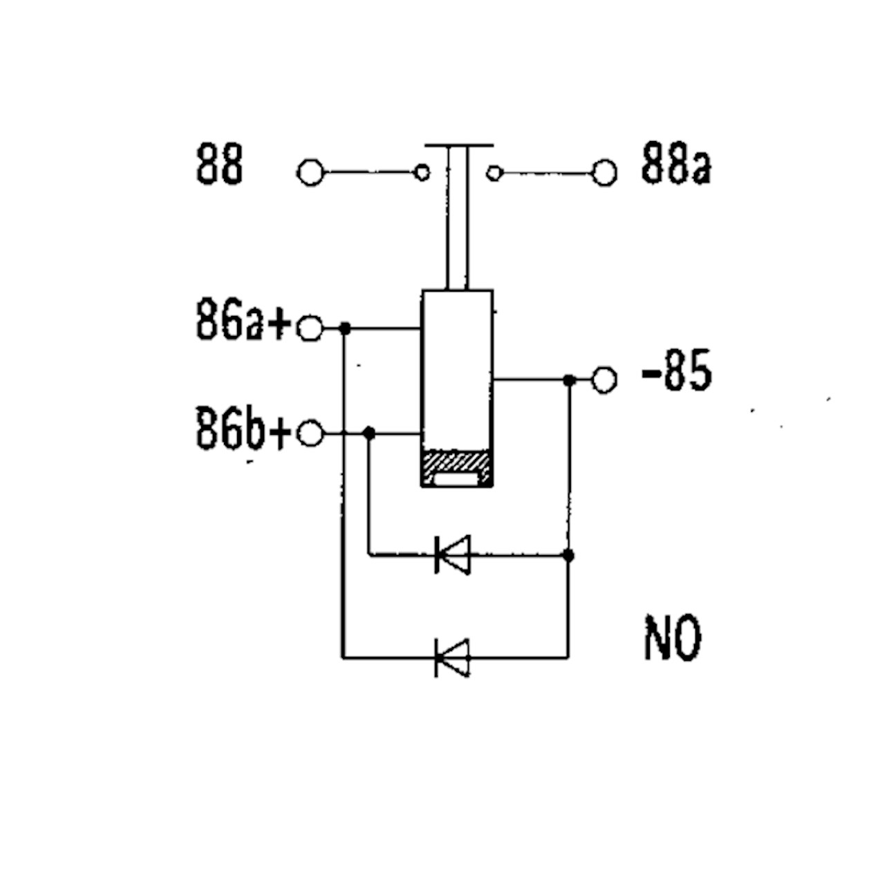high performance relay bistable n o