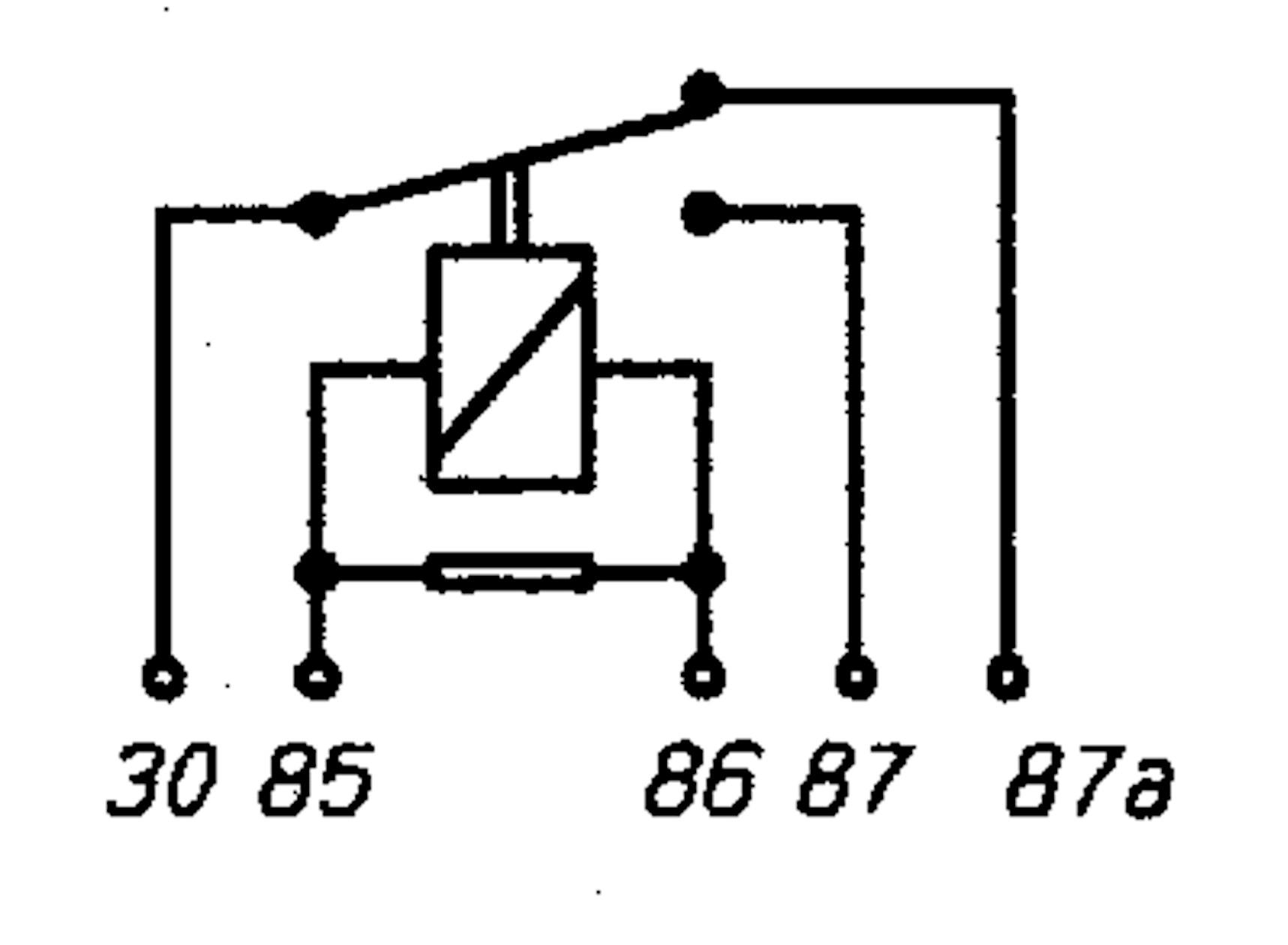relais wechsler 12v    20  30a mit widerst