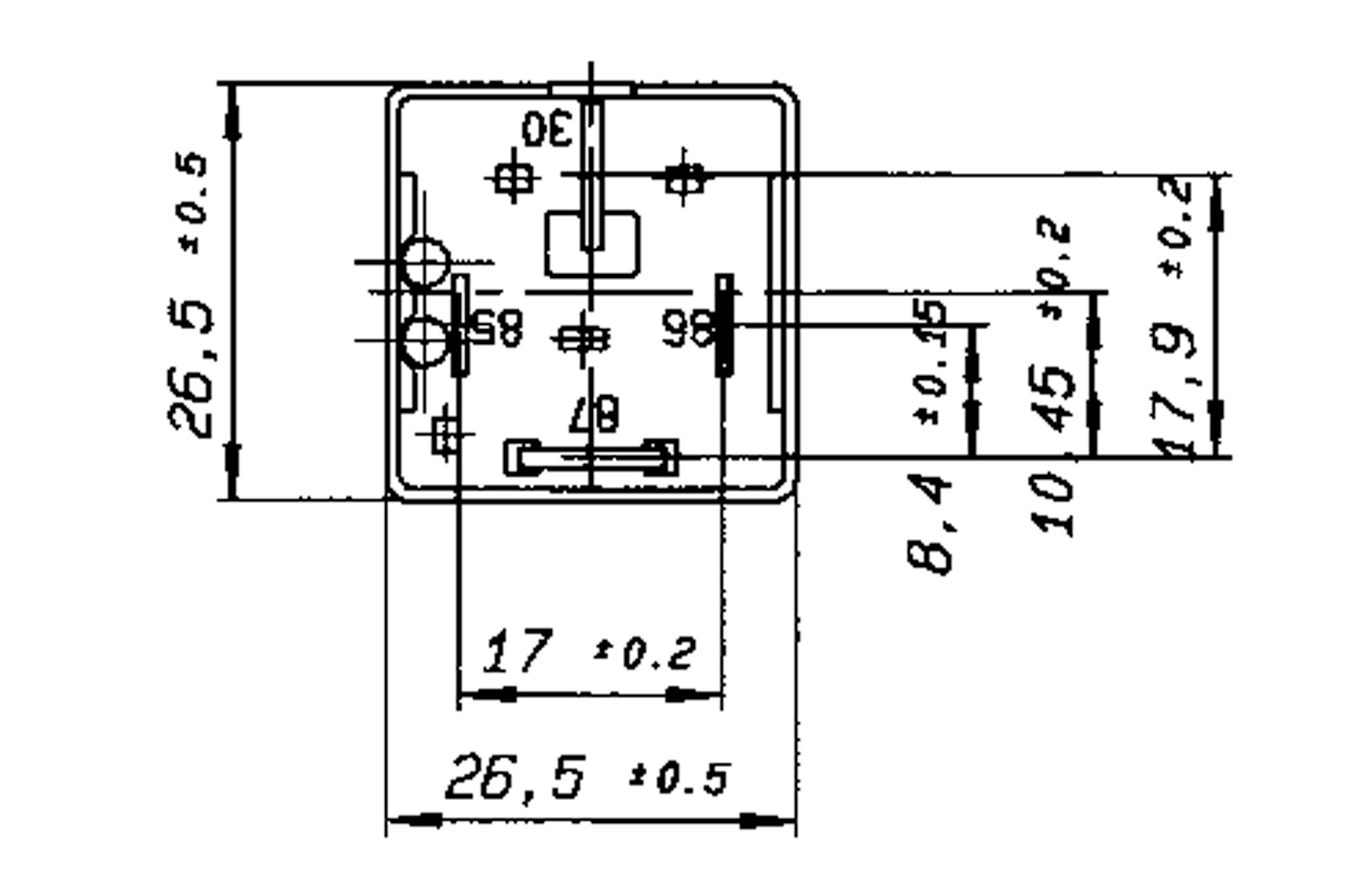 high performance relay n o  12v 70a