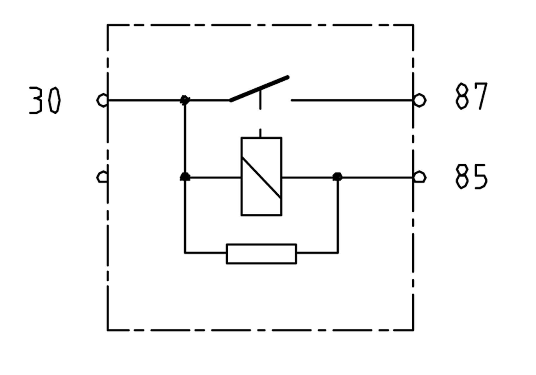 relay for vr6 motronic
