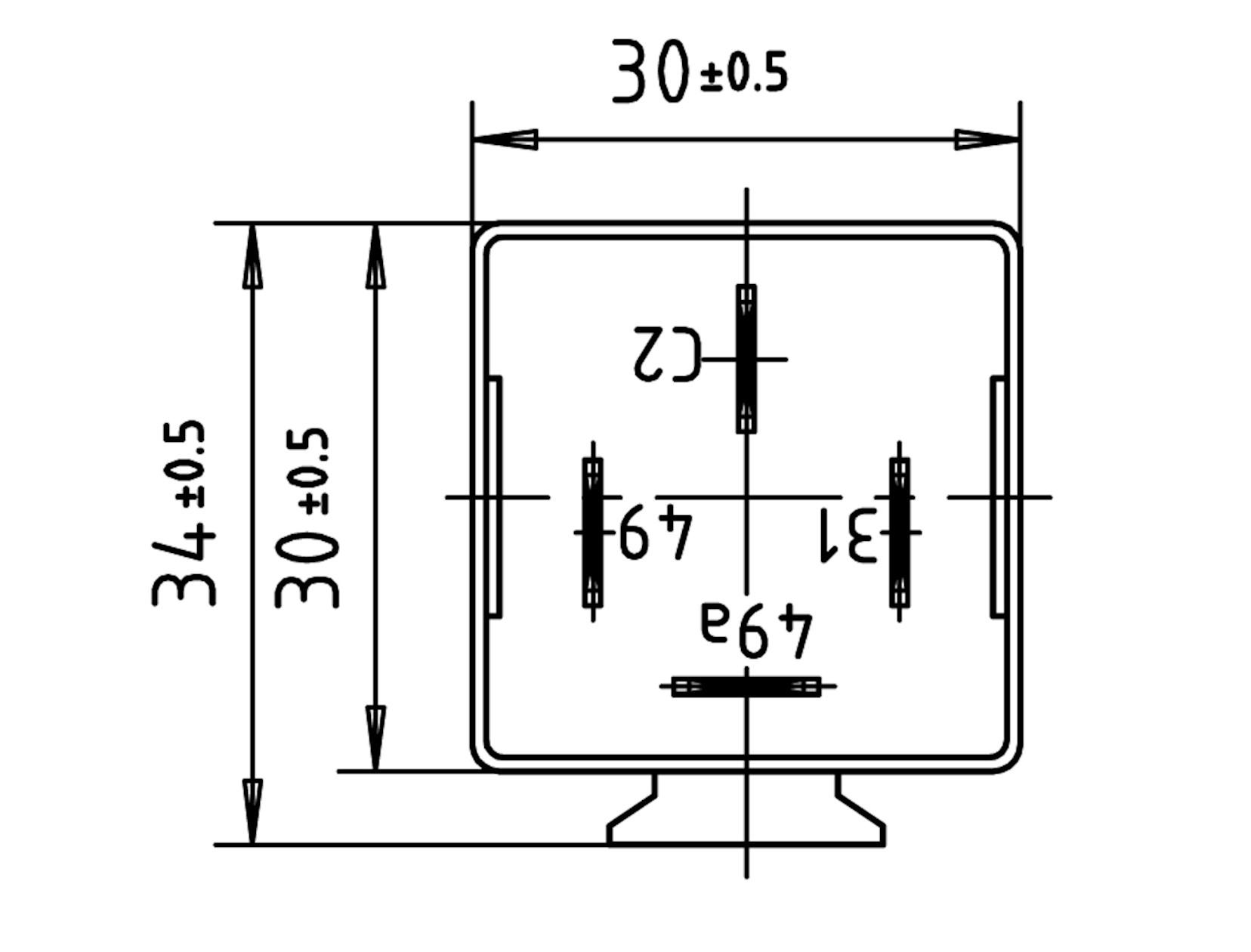 Electronic Pulse Generator 24v Circuit Diagram